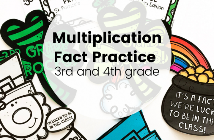 An Entire Year of Multiplication Practice