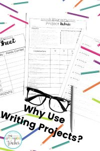Why Writing Projects are a BIG YES in Upper Elementary!