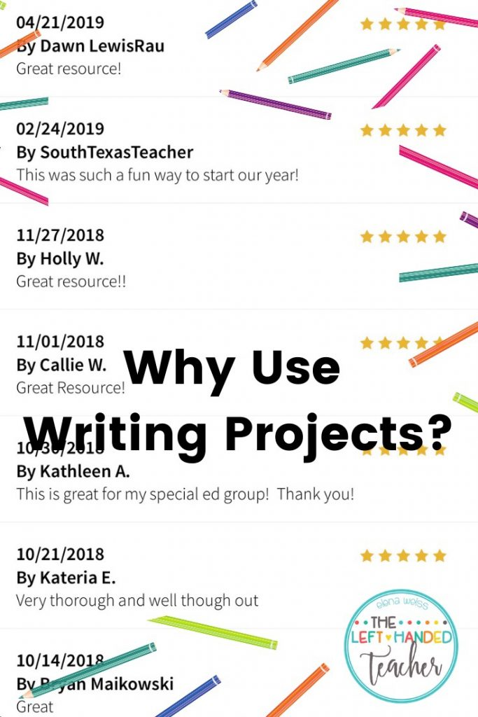 Writing project reviews