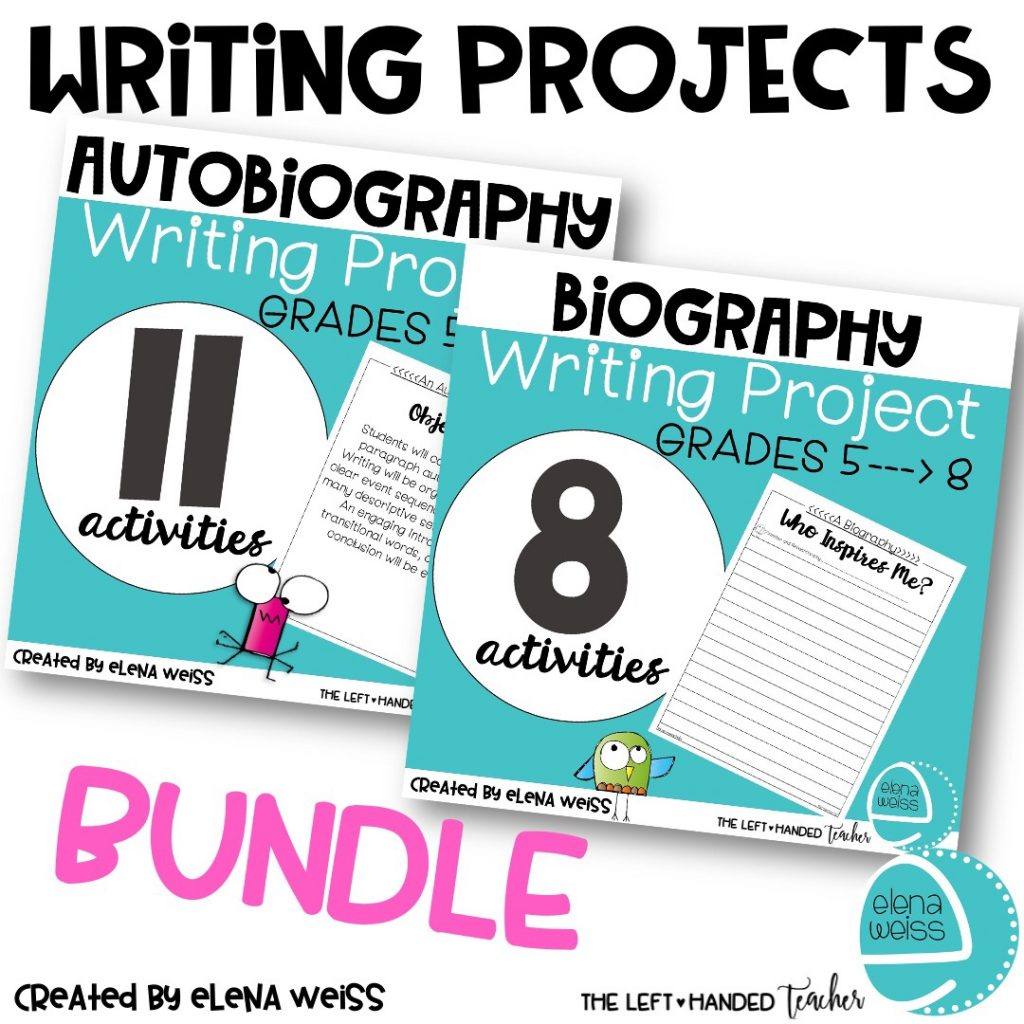 Writing Projects Bundle